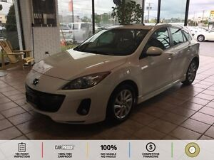 2013 Mazda Mazda3 GS-SKY TAN LEATHER SEATS! BLUETOOTH! CRUISE...