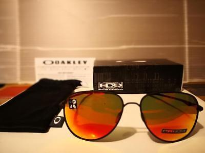 NEW Oakley Elmont L AVIATOR Sunglasses 60mm Satin Black / PRIZM Ruby (Oakley Pilot Sunglasses)