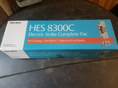 Hes 8300c-1224d-630 Complete Pac W Faceplate Option Electric Door Strike