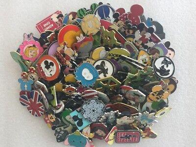 50 Disney Trading Pins Lot No Duplicates