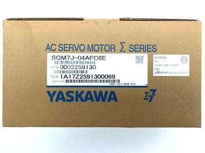 Yaskawa Sgm7j-04afc6e Ac Servo Motor