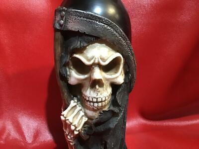 Grim reaper candle holder bottle shaped - Skull - Halloween - spooky - Cool