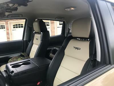 Custom Leather Upholstery - CUSTOM LEATHER UPHOLSTERY FOR 2007-18 TOYOTA TUNDRA DOUBLECAB OR CREWMAX