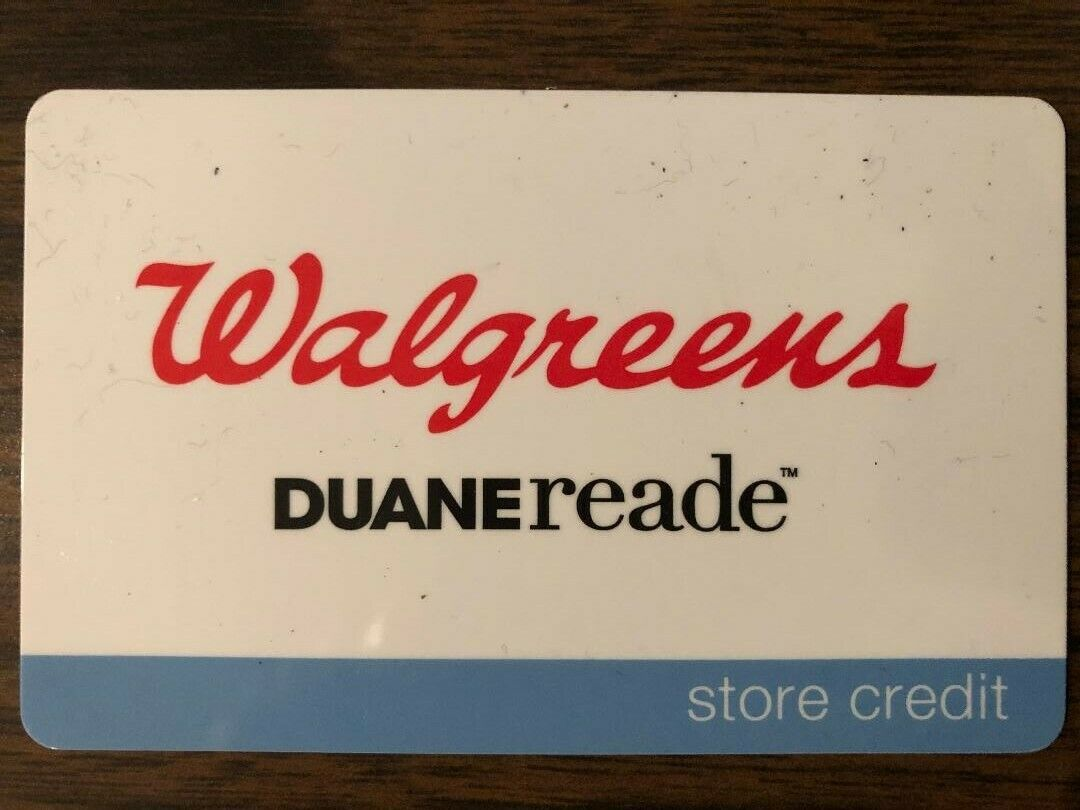 Walgreens Gift Card 60.64 Value. Free Shipping  - $52.00