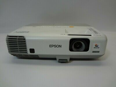 Epson PowerLite 935W H565A 2000:1 3700 Lumens Video Projector w/Lamp *No Remote*