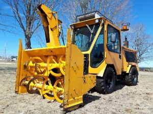 Trackless MT5 Tractor With Mower & Snow Blower