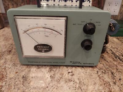Teledyne Analytical Instruments 320brceu Portable O2 Analyzerused Parts Only