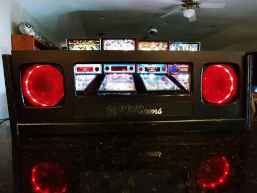Scared Stiff pinball machine Lighted Speakers for aftermarket game speakers