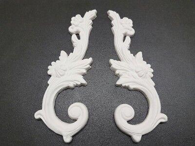 Decorative Plaster Pieces, 5 Pairs, Home Décor, Ceiling Design, Art Design