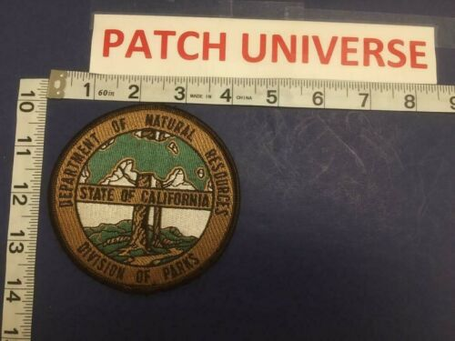 STATE OF CA DEPT OF NATURAL RESOURCES  DIV OF PARKS PATCH     E083