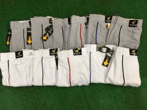 Easton Quantum Piped Braid Open Bottom Baseball Pants Youth & Adult ADJ Inseam
