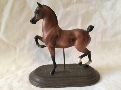 RARE VINTAGE HAGEN-RENAKER HACKNEY HORSE FIGURINE ~ BROOKSIDE STELLA