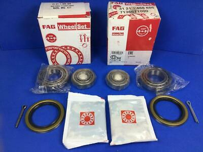 BMW 2002tii Front Wheel Bearing Kit New FAG 31211468886