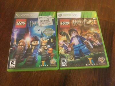LEGO Harry Potter: Years 1-4 & Years 5-7 Xbox 360 bundle both Complete