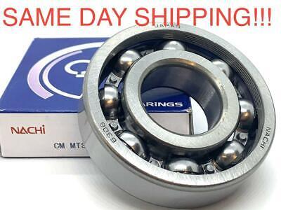 6306 Nachi Ball Bearing Open No Seals 30x7219mm  Same Day Shipping