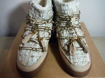 women's INUIKII Bouclé Sheepskin Sneaker Boot Retail $379
