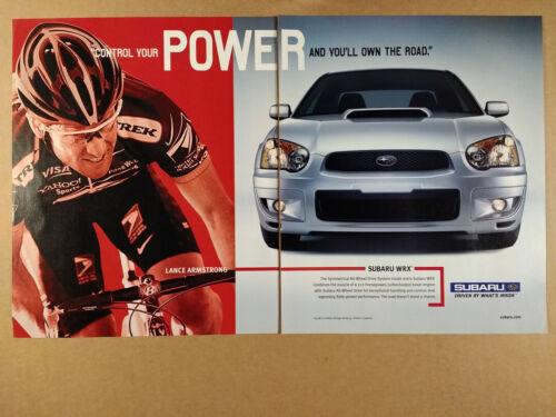 2004 Subaru WRX vintage print Ad