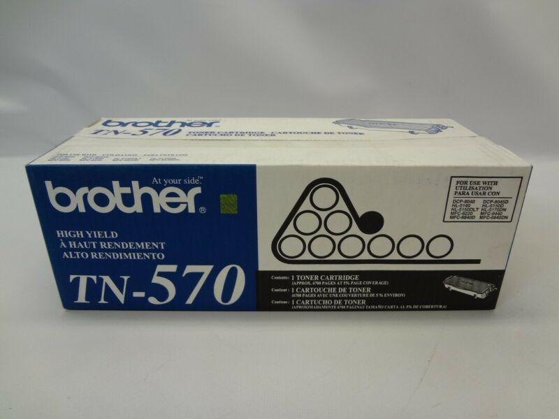 Brother TN-570 Toner Cartridge *Damaged Box New Unused*