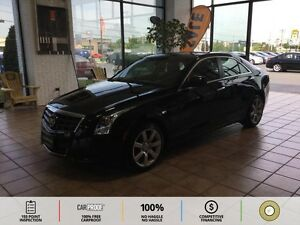 2013 Cadillac ATS 2.5L BT! PUSH TO START! LEATHER! SUNROOF! S...