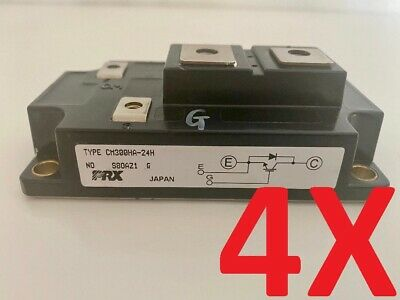 4x Powerex Prx Cm300ha-24h Transistor Igbt Power Module 1200v 300a