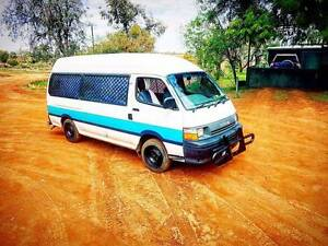 1993 Toyota Hiace Diesel Campervan Urgent Sale Trinity Park Cairns Area Preview