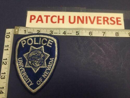 UNIVERSITY OF NEVADA POLICE SHOULDER PATCH               E078