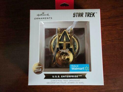 MIB Hallmark 2021 Star Trek U.S.S. ENTERPRISE RED BOX Ornament - FREE SHIPPING