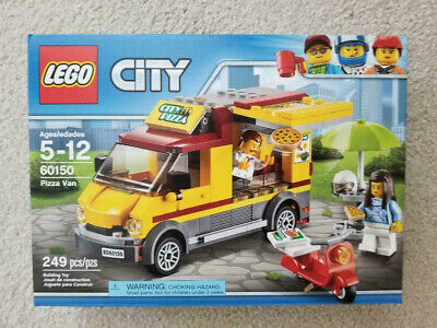 Lego City | 60150 | Pizza Van | New | Free Shipping | Retired