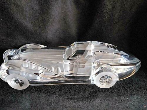 Daum Crystal Car Riviera Coupe/Bugatti Car Sculpture