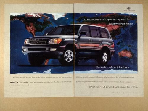 1998 Toyota 100 Series Land Cruiser vintage print Ad