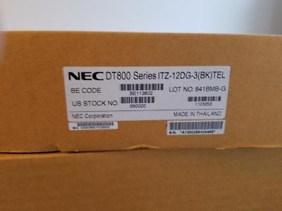 Nec Itz-12dg-3bk Tel Dt800 Display Phone 660020