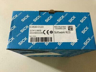 New Sick Clv630-0120 Barcode Scanner Software V6.10