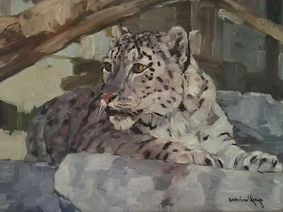 LENZO s Paintings Snow Leopard  - $999.00