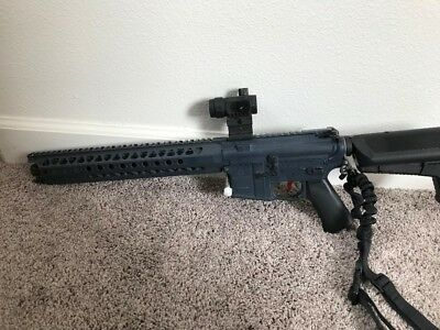 Krytac LVOA-S UMBRELLA ARMORY Carbine in Wolf Gray