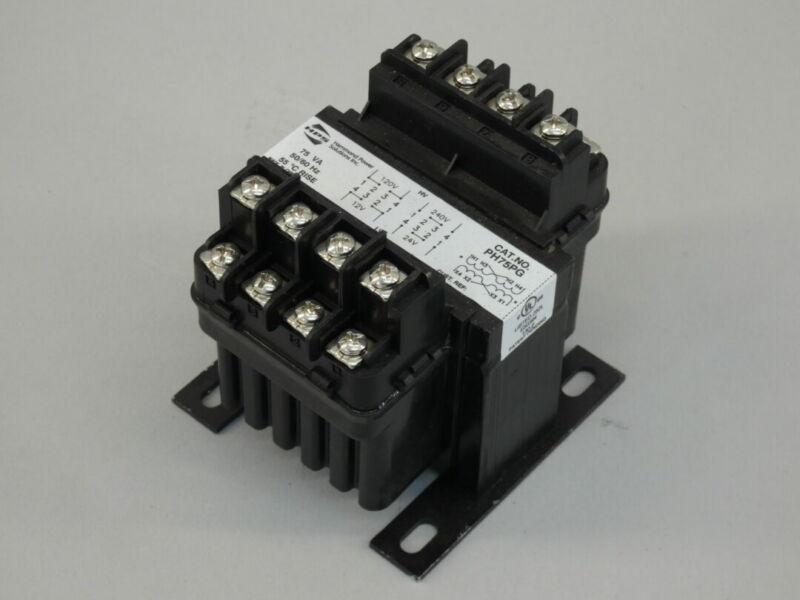 HPS PH75PG Industrial Control Transformer 75VA, 50/60Hz, 120/240V, 12/24V