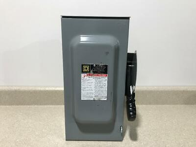 Square D Hd Safety Switch Hu362rb 60a New