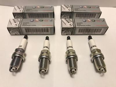 4pc  Laser Platinum Spark Plug  Audi A4 A5 VW Passat 06H905601A PFR7S8EG