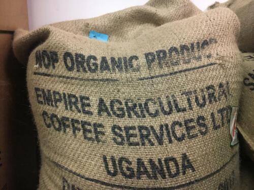 5 LBS AFRICA UGANDA BUGISU  UNROASTED GREEN COFFEE BEANS - ARABICA ORGANIC
