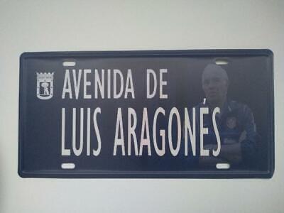 Placa Avenida Luis Aragonés-Atlético de Madrid