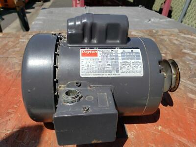 Dayton Industrial Motor 34 Hp Woodworking Machinery