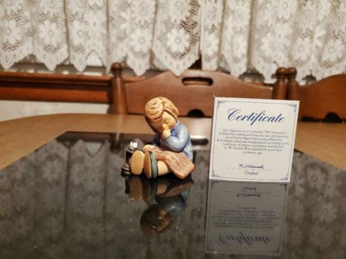 "Goebel Hummel Figurine ""Nickerchen"" A Nap,#534 With Box & COA"