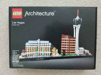 LEGO Architecture | Las Vegas Nevada Skyline | 21047 | New | Free Shipping