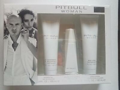 Pitbull Woman By Pitbull For Women SET: EDP Spray + Shower Gel + Body Lotion