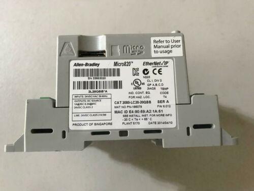 ALLEN BRADLEY 2080-LC20-20QBB SER A Micro820