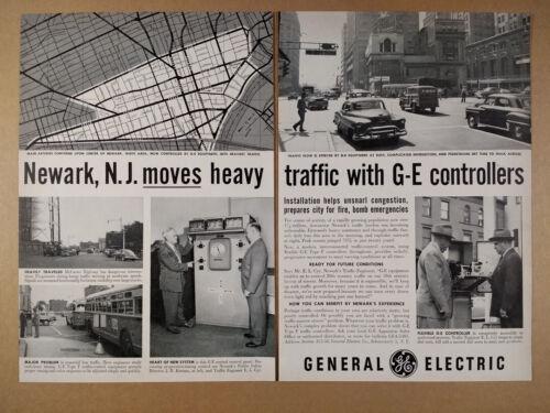 1952 GE General Electric Traffic Controllers Newark NJ Use vintage print Ad