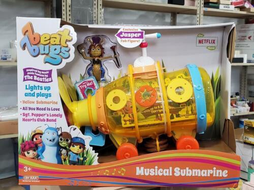 BEAT BUGS MUSICAL SUBMARINE w/JASPER FAB FIGURE (MUSIC BY THE BEATLES)