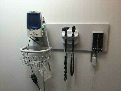 Welch Allyn Gs 777 Green Series Integrated Wall System With Lxi Spot Vital Signs