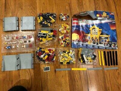 LEGO Set 4554 Metro Train Station 9V City Town Rail Depot NIB Sealed Parts Bags