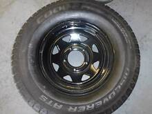 "5 Stud 16"" LandCruiser Trailer Wheels with Cooper Discovery Tyres Wetherill Park Fairfield Area Preview"