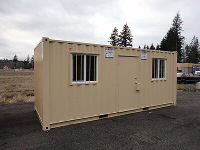 20' Office Shipping Container Cargo Container Storage Container in Chehalis, WA